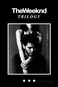 Yutirerly The Weeknd Trilogy College Poster Print, 24x36
