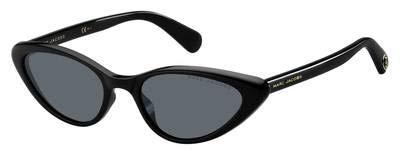 Marc Jacobs Sonnenbrillen (MARC-363-S 807IR) schwarz glänzend - grau