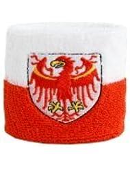 Digni® Poignet éponge avec drapeau Italie Tyrol-du-Sud