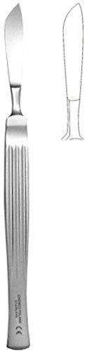 Skalpell bauchig, Länge 160mm, Breite 40mm, chirurgischer Edelstahl