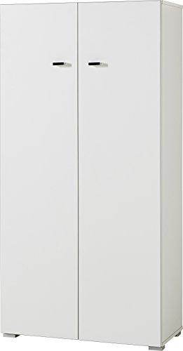 Germania 4124-84 Aktenregal mit 8 Fächern GW-Montreal, in Weiß, 71 x 142 x 35 cm (BxHxT)