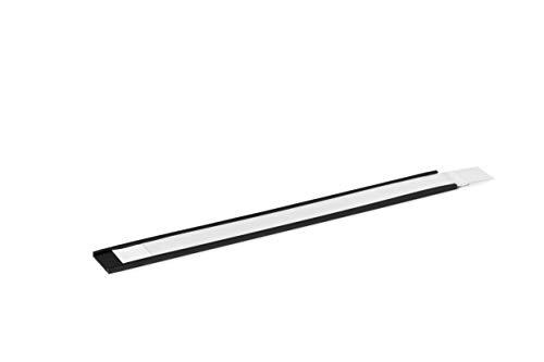 Durable 171058 Magnetische C-Profile inkl. Etiketten, 200 x 20 mm (B x H), 5 Stück, anthrazit