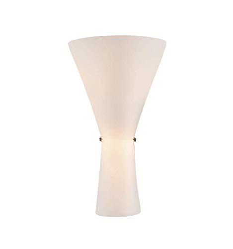 Torche murale en verre opalin blanc 2xE14 - Tokyo KOSILUM - IP20 - Classe énergétique : Compatible avec A, B, C, D, E - 220/230V 50/60Hz - - - Blanc - Descriptif technique du luminaire :Culot de l'ampoule :E14 | Nombre d'ampoules : 2 | Indice de protection : IP20 | Puissance : | Tension : 220/230V 50/60Hz | Poids du luminaire : 0,26 kg | Poids du colis : 0,31 kg - KOSILUM