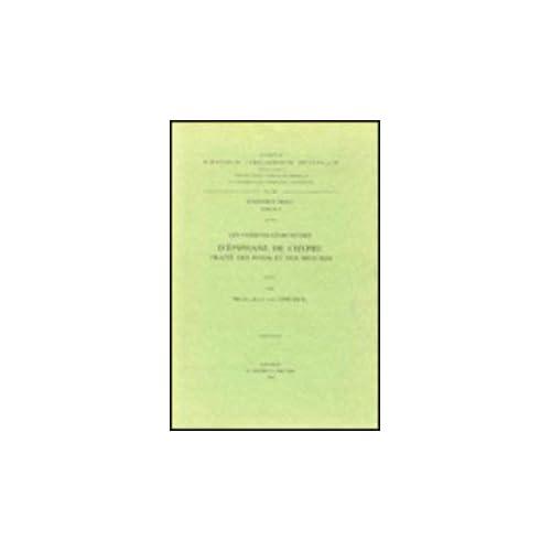 Les Versions Georgiennes D'epiphane De Chypre. Traite Des Poids Et Des Mesures. Iber. 19.