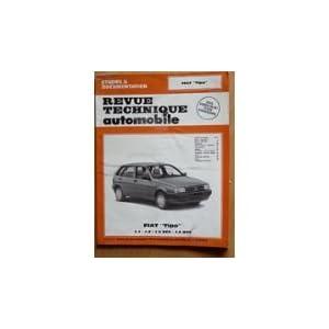 Revue Technique 504.1 Fiat Tipo 1.1-1.4-1.4 Dgt-1.6 Dgt (88/89)