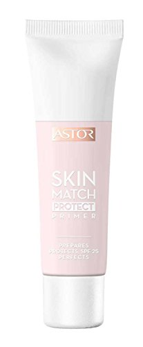 Astor Skin Match Protect Primer, Farbe 001, 1er Pack (1 x 30 ml)