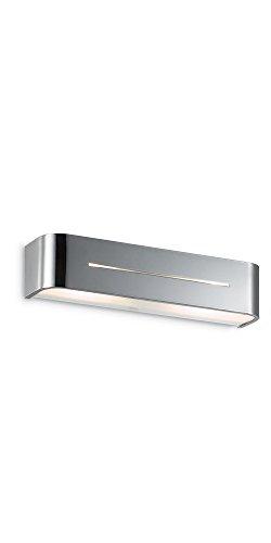Ideal Lux Posta AP2 Lampada, Cromo
