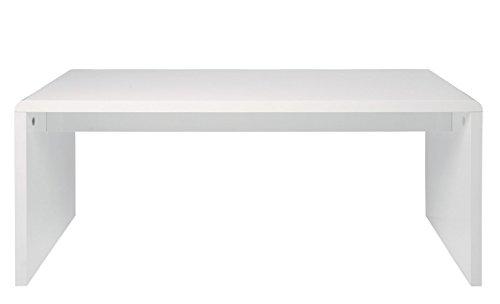 KARE White Club Schreibtisch 180x85 hochglanz weiß