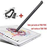General Only Works On P580 P585 Touch Stylus S Pen für Galaxy Tab A 10.1 2016 SM-P580 P580 P585 with Tips Or Nibs (schwarz)