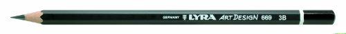 Bleistift LYRA ART Design 178x7mm 2B PG/12ST