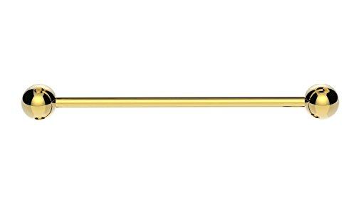 Gold Industrial Scaffold Barbell Ear Piercing Bar Surgical Steel