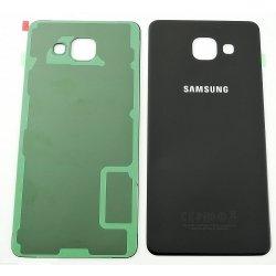 Original Samsung Akkudeckel black / schwarz für Samsung A510F Galaxy A5 (2016) - (Akkufachdeckel, Batterieabdeckung, Rückseite, Back-Cover) - GH82-11020B