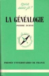 La Généalogie (Que sais-je) par Pierre Durye