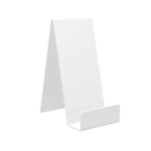 Displaypro 10x large blanco acrílico función atril, para sujetar libros, teléfonos, hondos y más.–envío gratuito.