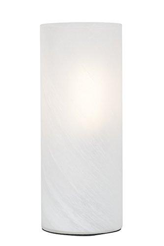 Leuchte Glas Tischleuchte (Brilliant Robin Tischleuchte, 1x E27 maximal 53W, Glas, alabaster 92900/94)
