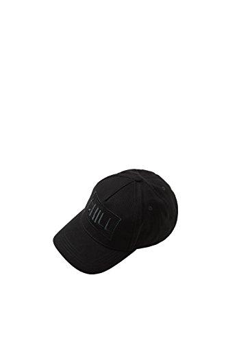 edc by Esprit Accessoires Damen Baseball Cap 078CA1P004, Schwarz (Black 001), One Size (Chill Cap)