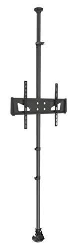 myWall HD5L Boden Decken Stange für Flachbildschirme, 37-65 Zoll (94-165cm), bis 25Kg Schwarz (Boden-decken-stange)