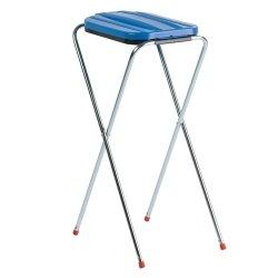 mullsackstander-metall-blau