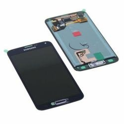 Original Samsung Galaxy S5 SM-G900F G900F LCD Display Touchscreen schwarz black GH97-15959B