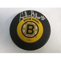 Signed Oates, Adam (Boston Bruins) Boston Bruins Hockey Puck autographed