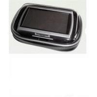 """XiRRiX GPS Bikerset 4 Motorradtasche Navi Biker Set Universal Fahrrad+Motorrad Halterung inkl. Tasche, Outdoor-Tasche für Navigation, für GPS Geräte bis 4,3\"""" (10,9cm) für Motorrad, Fahrrad Farbe: schwarz"""