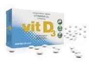 Soria Natural Vitamina D3 Retard - 48 Tabletas