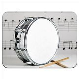 snare-drum-drumsticks-sheet-music-premium-quality-thick-rubber-mouse-mat-pad-soft-comfort-feel-finis