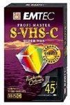 EMTEC SEC-45 S-VHS-C Profi Master Videocassette