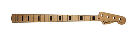 '70s Precision Bass Neck, 20 Vintage-Style Frets, Maple Fingerboard with Block Inlays ()