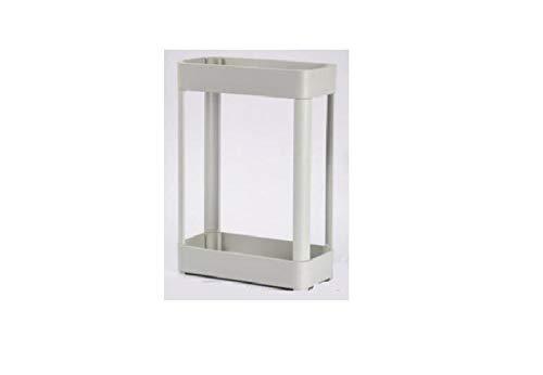 zgwd Wandmontage Toilettenpapierhalter,Handy-Lagerregal ,Bad Rollenhalter Bodenstehendes Graues Quadrat Mit Doppeltem Abfluss