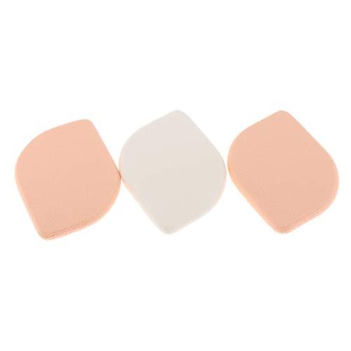 Fenteer 3pcs Blender éponge Maquillage Humide et Sec de maquillage Eponge Coussin d'Air Houppette pour Poudre de Talc CC BB Crème Teint liquide