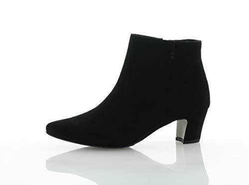 Paul Green | Stiefelette | Ankle Boots - schwarz, Farbe:schwarz, Größe:39