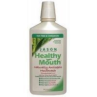 Pack of 2 x Jason Healthy Mouth Mouthwash Cinnamon Clove - 16 fl oz