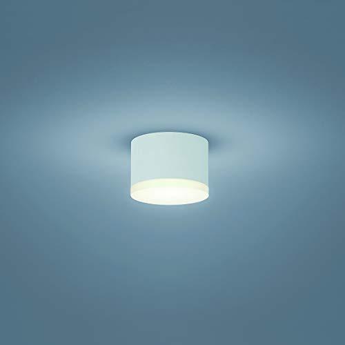 Helestra LED Deckenleuchte Pala Weiss Matt | LEDs fest verbaut 9W 900lm warmweiß | 15/1629.07
