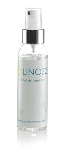 LINOZZ Auto Luftreiniger, Spray 100 ml. Geruchsentferner gegen Geruch von Nikotin, Neuwagen und Tiergerüche