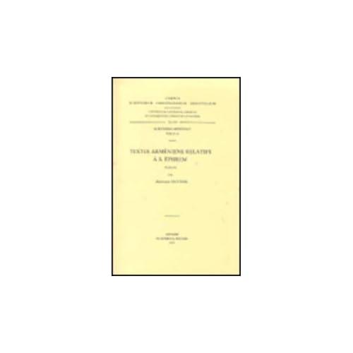 Textes Armeniens Relatifs a S. Ephrem. Arm. 16.