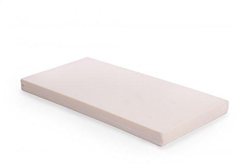 Preisvergleich Produktbild Passende Matratze für Stapelbett / Maße: 120x60x8 cm / Schaumstoffkern RG24/40 / Bezug: 100% Baumwolle (waschbar) / Farbe: uni-beige