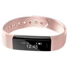 Torus Pro sehr Fit pink heart Rate Monitor und Activity Tracker und Fitness Uhr mit Schrittzähler und Kalorienzähler. Diese Fitbit gestylt Sport Zubehör ist kompatibel mit iPhone und Android Handys Plus Easy USB Charge und exklusive Logo