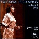 Tatiana Troyanos - In Recital - James Levine, piano