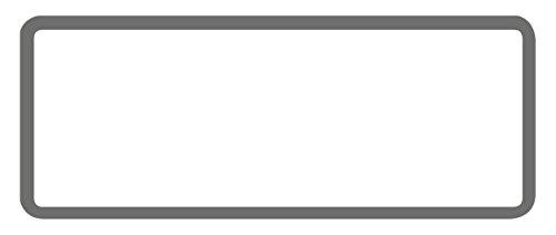 AVERY Zweckform 6919 Inventar-Etiketten (50 Stück, fälschungssicher, 50 x 20 mm) 10 Bogen schwarz