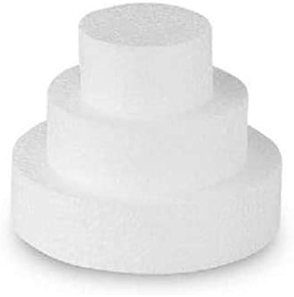 bianco Styropor A34104 10 x 10 x 10 cm 4 pezzi per fai da te Cubo in polistirolo 10 x 10 x 10 cm