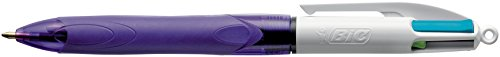 BIC 334093 – Bolígrafo en 4 Colores, Morado