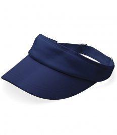 Beechfield - Casquette visière - Homme - Bleu - Bleu marine, One Size