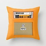 Busy Deals New Retro Orange Guitar Electric Amp Amplifier Iphone ¡­ Pillowcase Home Decoration pillowcase covers