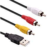USB to 3RCA Cable, iGreely 1.5m ...