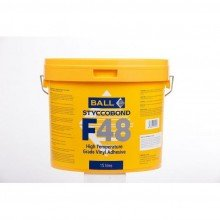 F Ball F48 High Temperature Grade Vinyl Adhesive 15ltr by F Ball