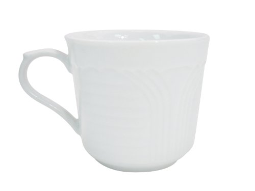 CAC China CRO-35 Corona 2-5/8-Inch 3.5-Ounce Super White Porcelain A.D. Cup, Box of 36