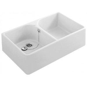 Blanco - Évier de cuisine - Evier à poser céramique blanc TARGA...