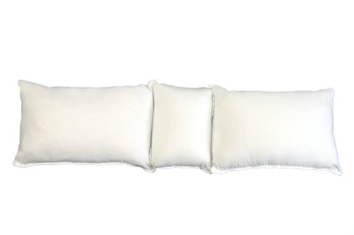 The Good Sleep Expert Bolster Pillow – Ideal for Pregnant Women & Lumbar Back Support in Bed – Long Elevation Pillow to Help Tired, Achy, or Swollen Legs – 60 Day Money Back Guarantee