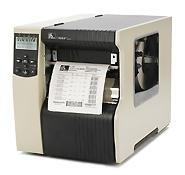 Zebra 172–80e-00003TT Drucker, 170x I4, 203dpi, Euro/UK CORD, SWISS 721FONT, seriell, parallel, USB, INT 10/100, Bifold Media Tür (Usb-tür)